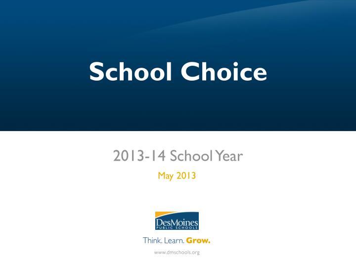 School Choice