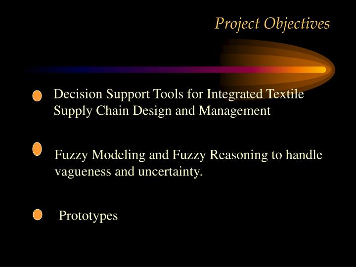 Decision Support Tools for Integrated Textile Supply Chain Design and Management