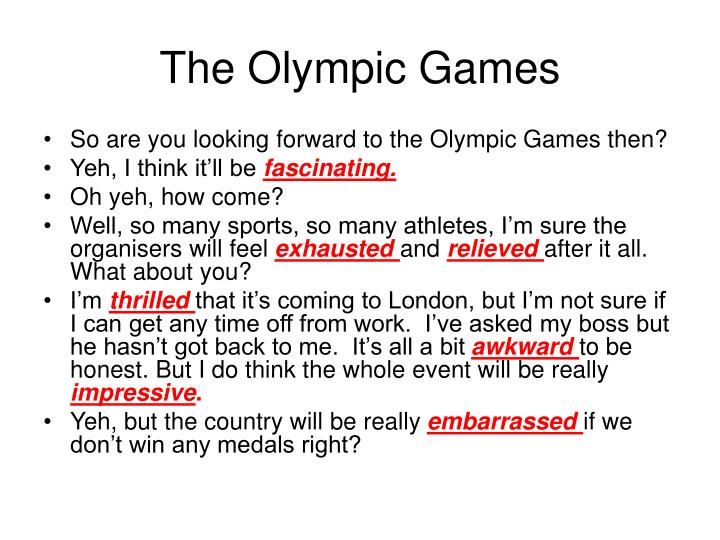 The olympic games1