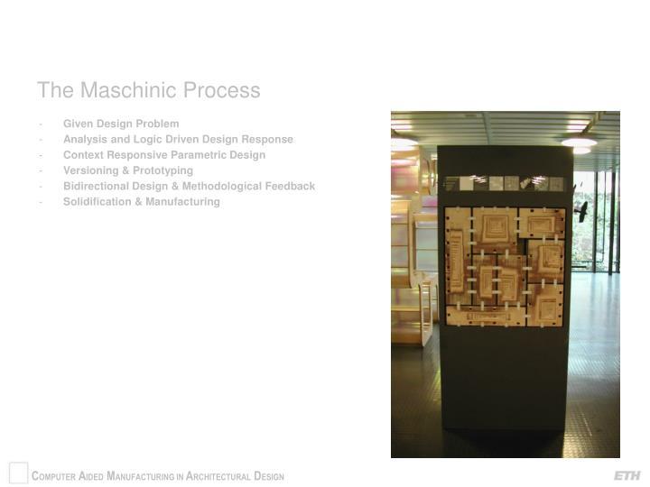 The Maschinic Process