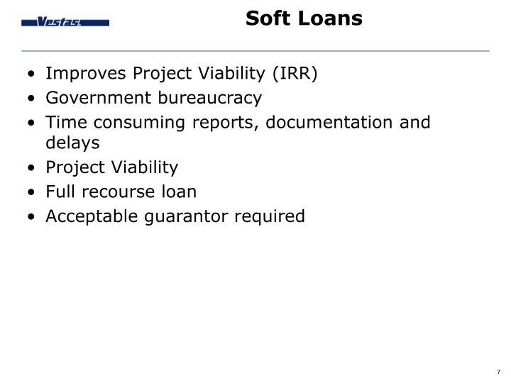 Soft Loans