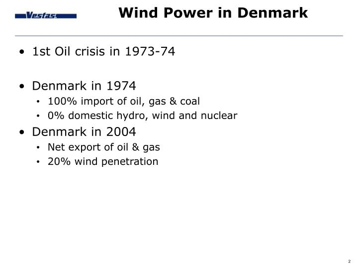 Wind power in denmark1