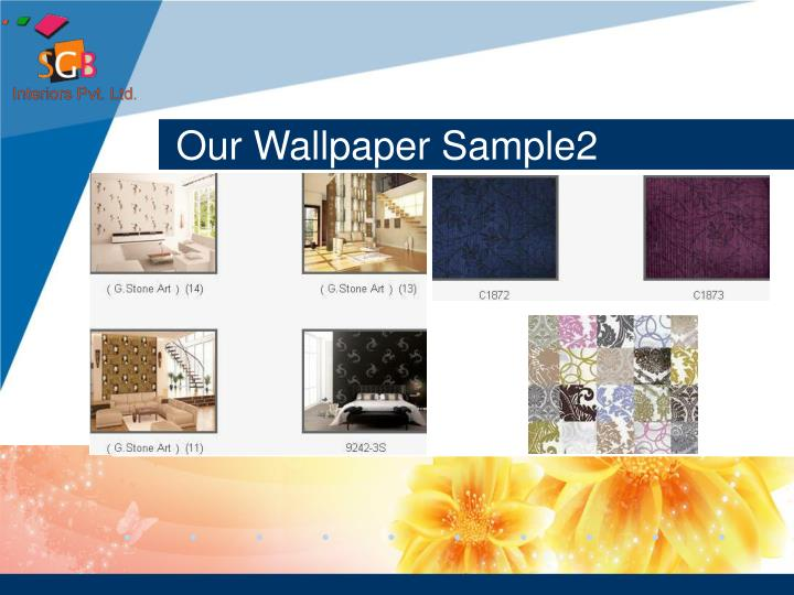 Our Wallpaper Sample2