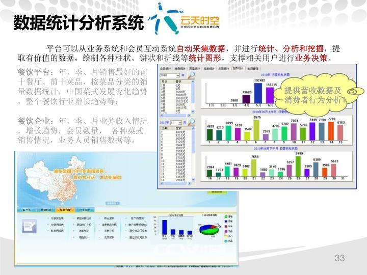 数据统计分析系统