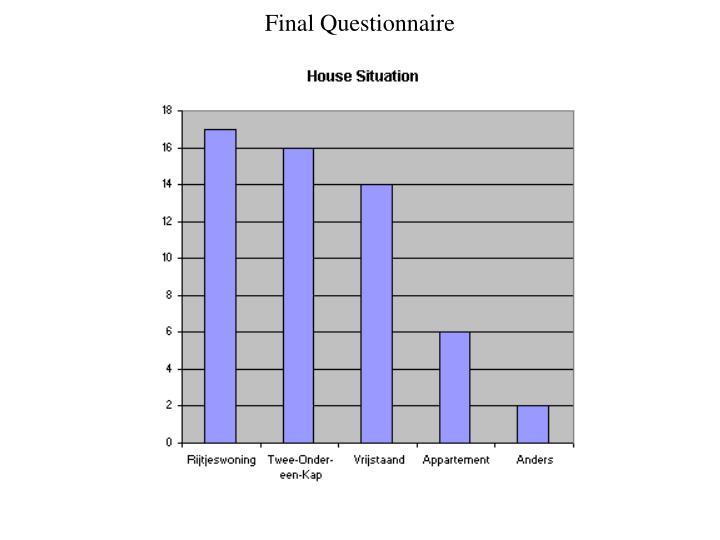 Final Questionnaire
