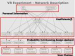 vr experiment network description