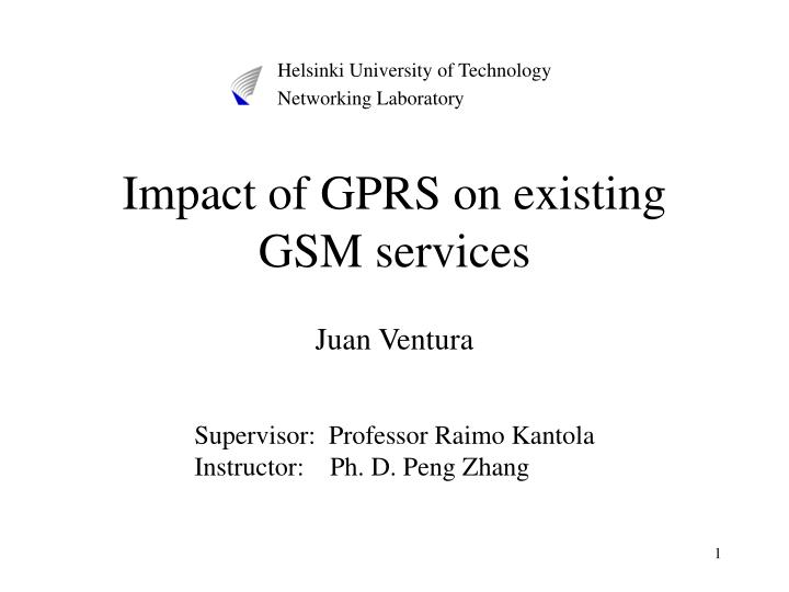 impact of gprs on existing gsm services