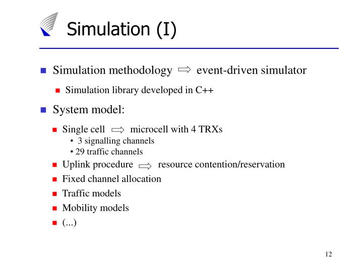 Simulation (I)