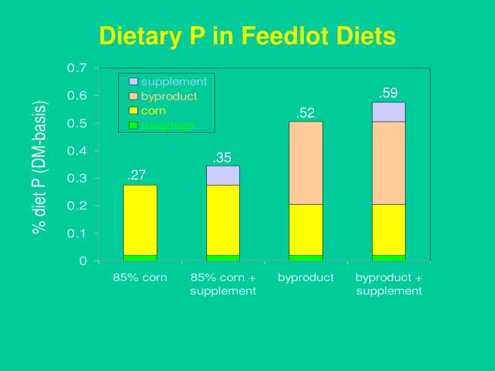Dietary P in Feedlot Diets