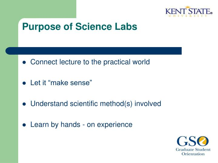 Purpose of Science Labs
