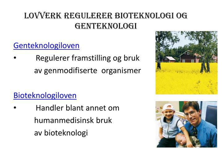 genteknologi etikk