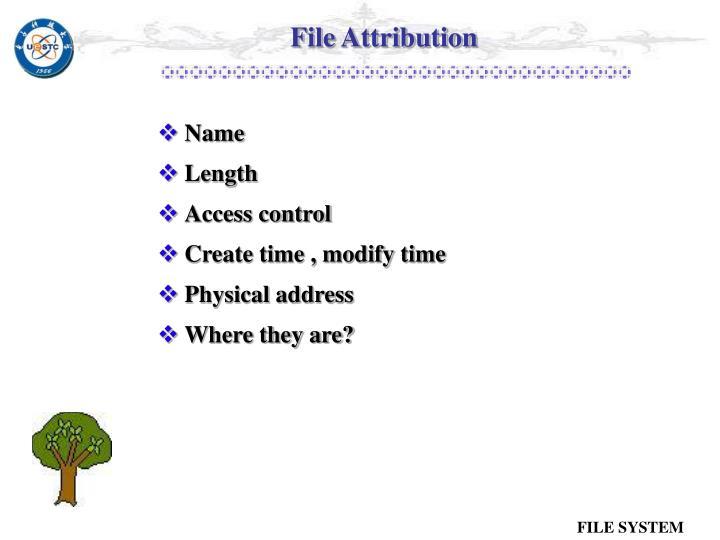 File Attribution