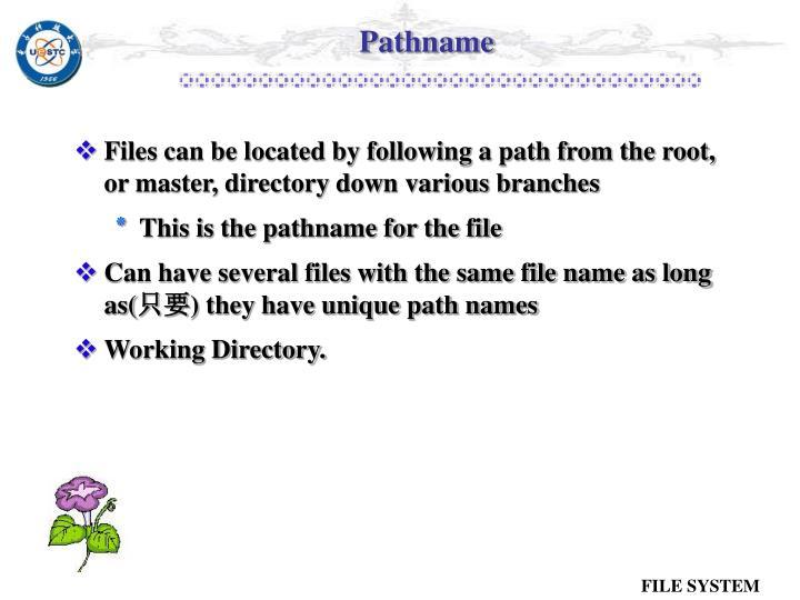 Pathname