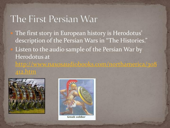 The first persian war