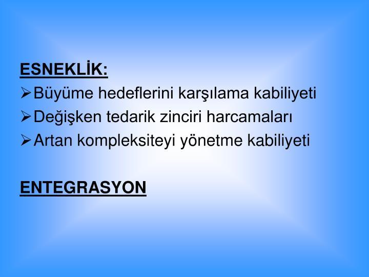 ESNEKLK: