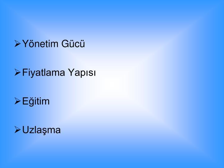 Ynetim Gc