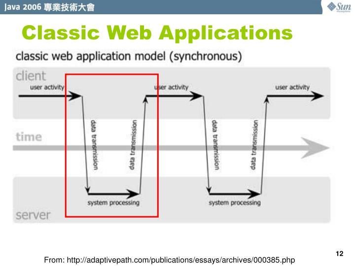 Classic Web Applications