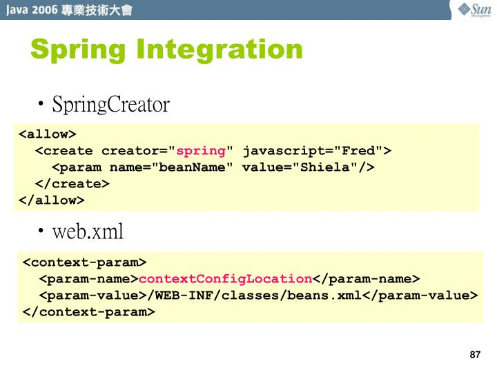 Spring Integration