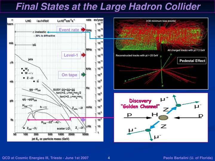 Final States at the Large Hadron Collider