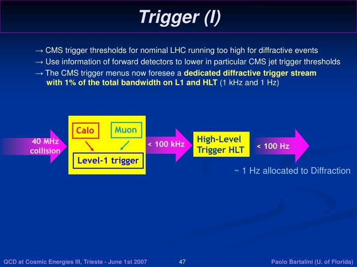 Trigger (I)