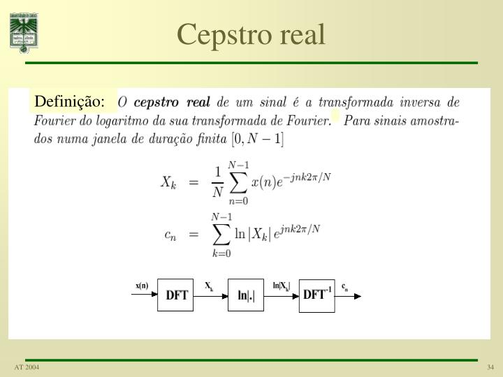 Cepstro real