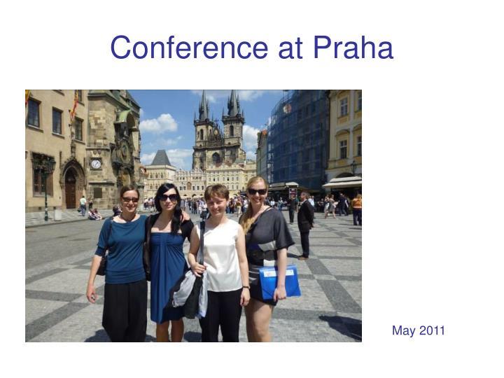 Conference at Praha