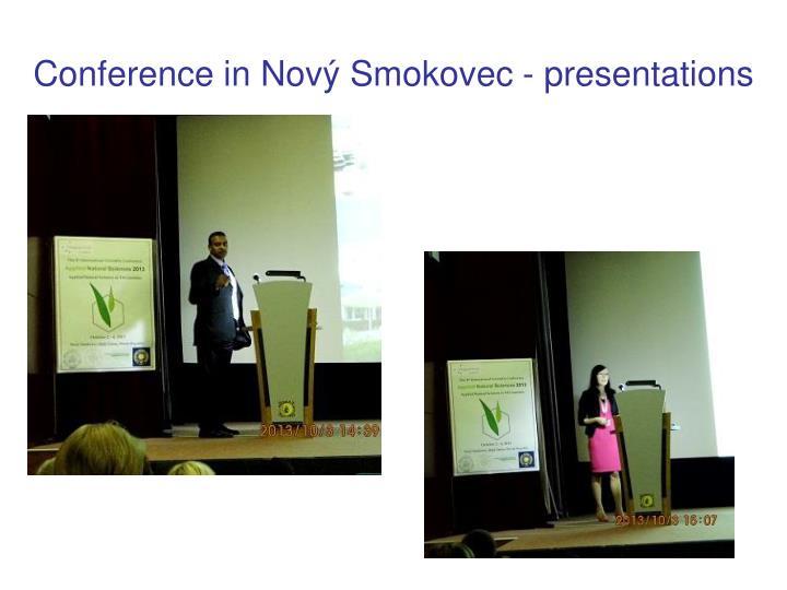 Conference in Nový Smokovec -