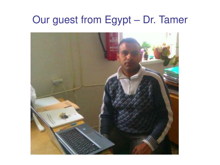 Our guest
