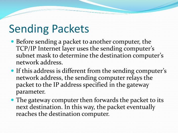 Sending Packets