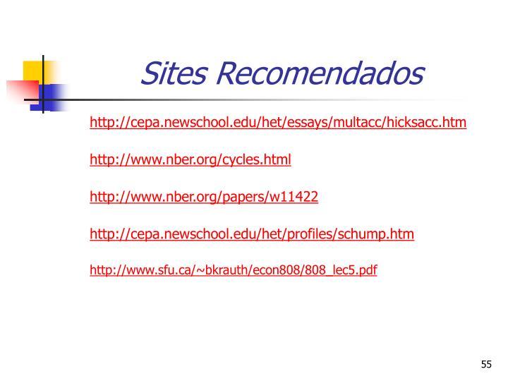 Sites Recomendados