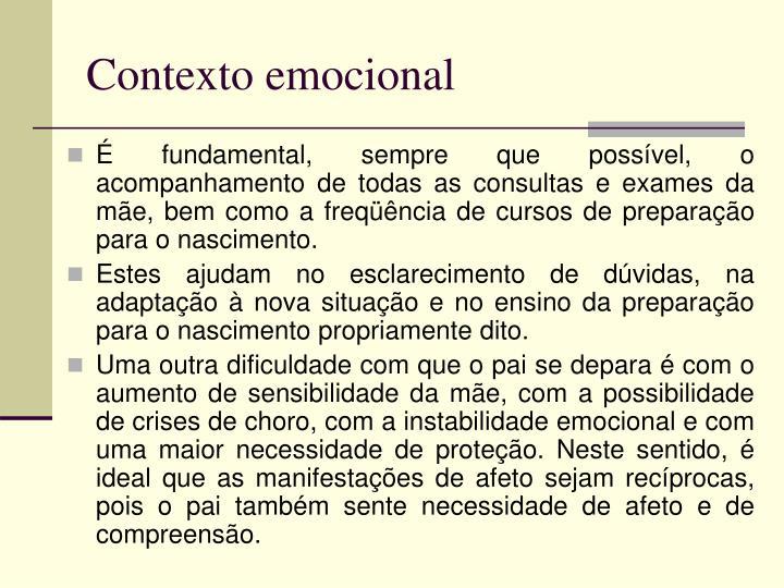 Contexto emocional