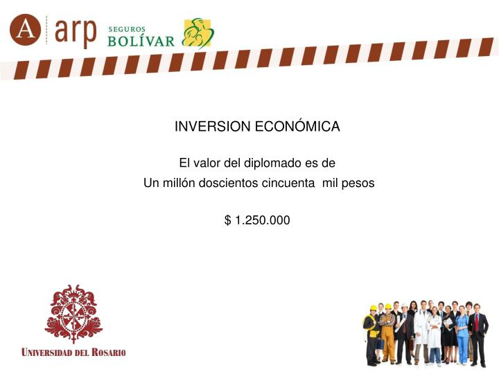 INVERSION ECONÓMICA