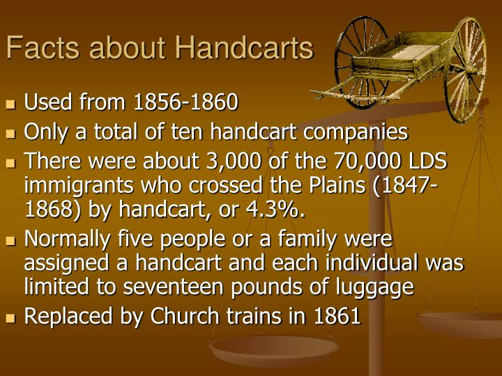 Facts about Handcarts