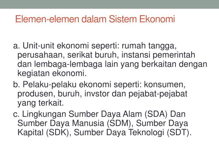 Elemen-elemen