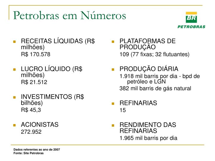 RECEITAS LÍQUIDAS (R$ milhões)