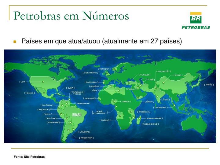 Petrobras em Números