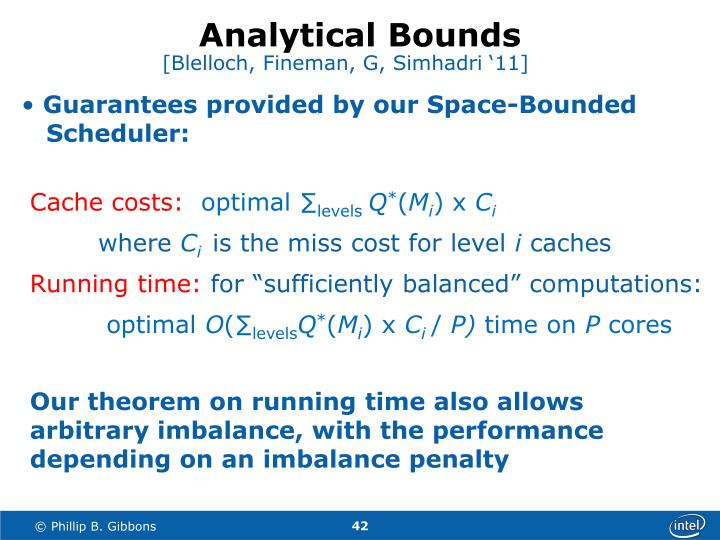 Analytical Bounds