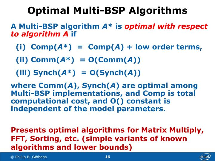 Optimal Multi-BSP Algorithms