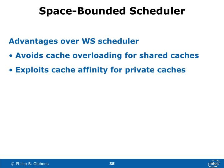 Space-Bounded Scheduler