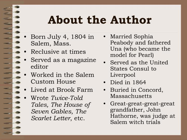 Born July 4, 1804 in Salem, Mass.