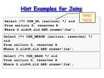 hint examples for joins