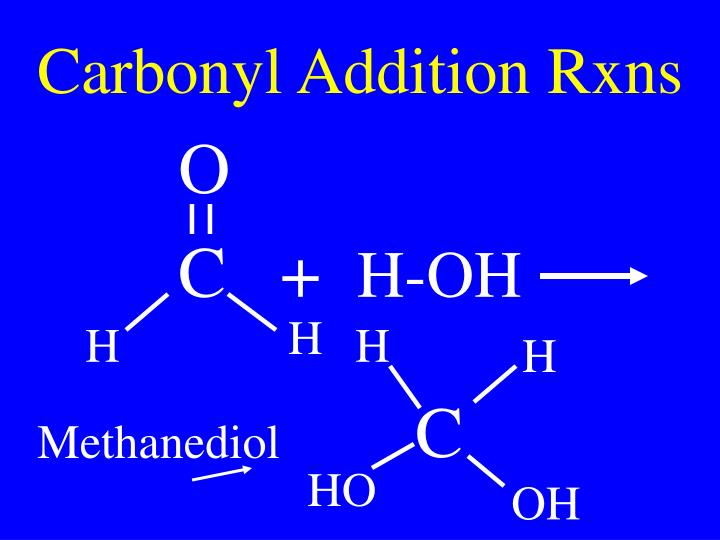 Carbonyl Addition Rxns