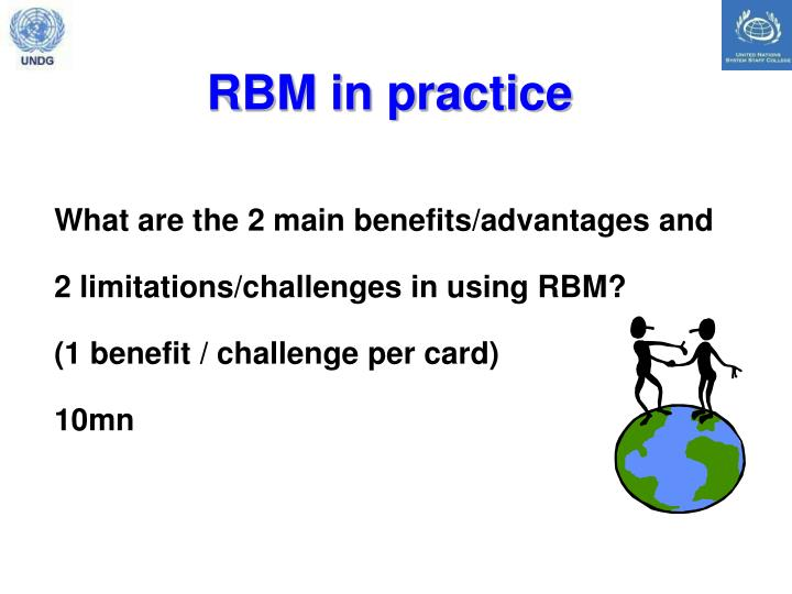 RBM in practice