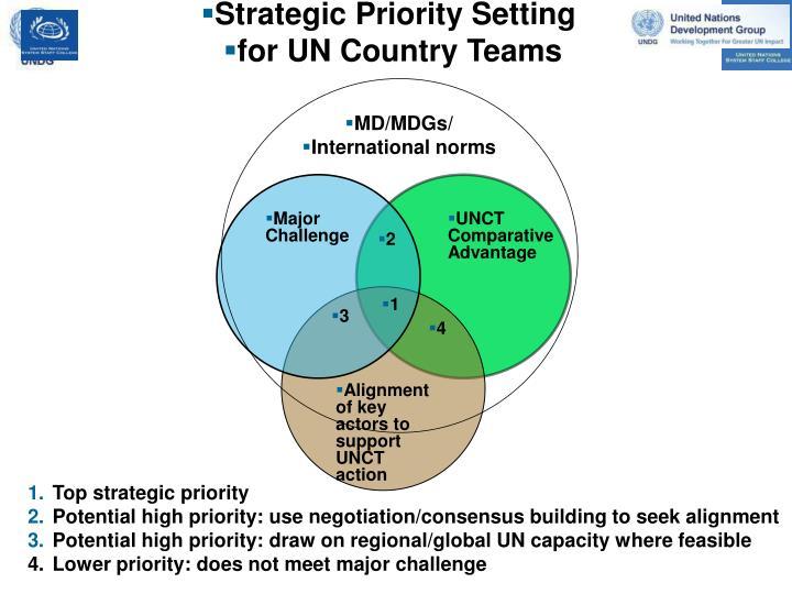 Strategic Priority Setting