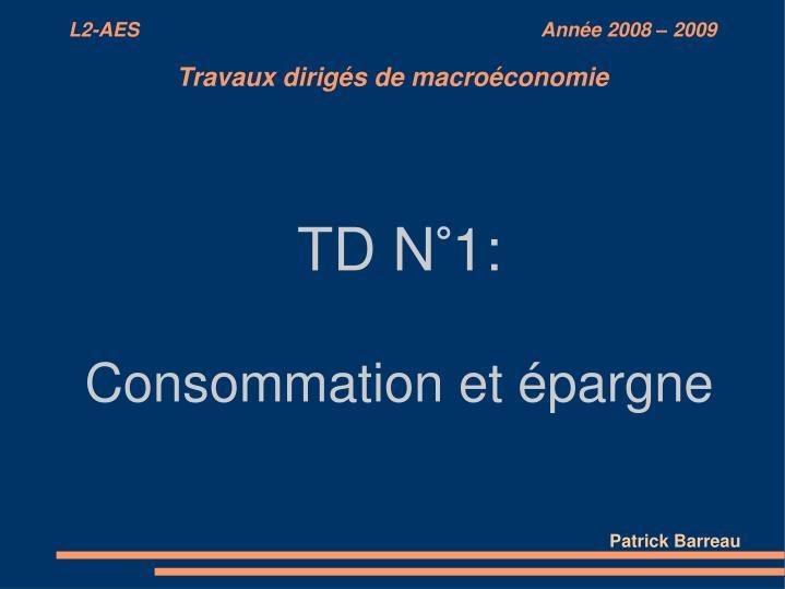 TD N°1: