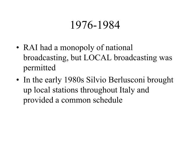 1976-1984