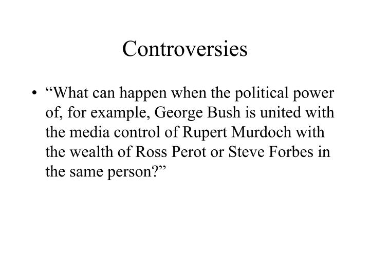 Controversies