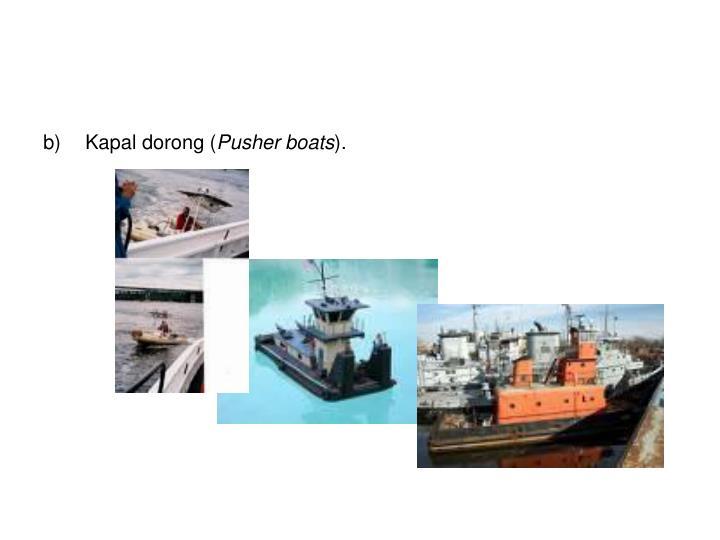 Kapal dorong (