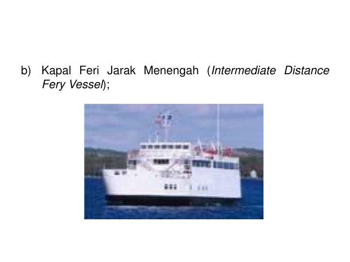Kapal Feri Jarak Menengah (