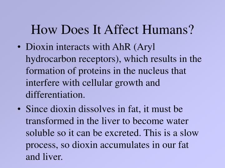 How Does It Affect Humans?